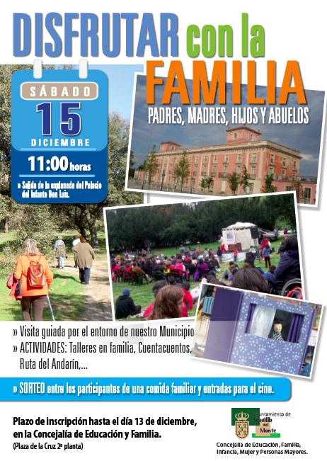 Actividad familiar organizada por el Ayuntamiento de Boadilla