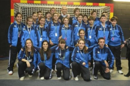 Alumnos del colegio colaboran en el Campeonato del Mundo de Balonmano