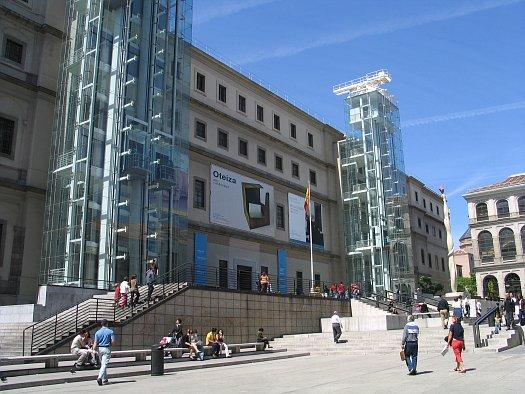 Visitas familiares a Madrid: museo Reina Sofía