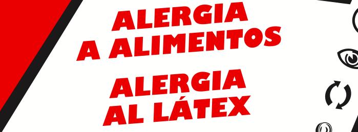 Guía de alergías a alimentos y al latex