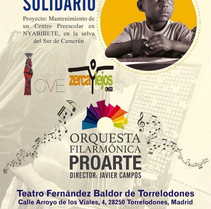 Concierto solidario de la orquesta filarmónica ProArte
