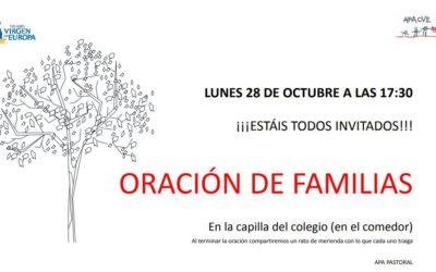 Oración en familia 29 de noviembre
